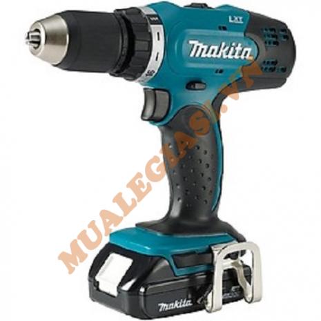 Máy khoan và vặn vít dùng pin 18V Makita DDF453SYX1