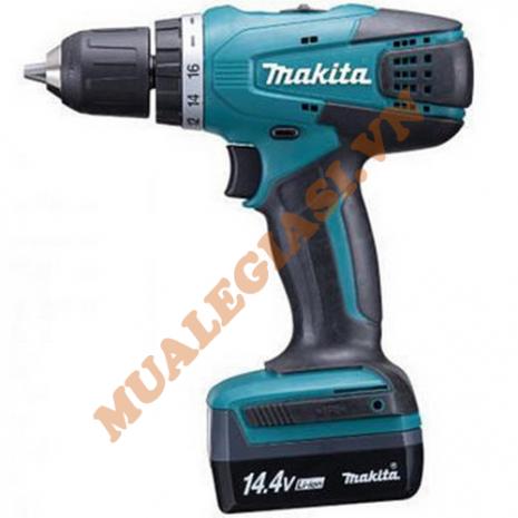 Máy khoan vặn vít dùng pin 14.4V Makita DF347DWE