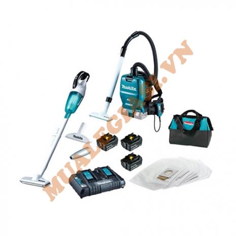 Bộ sản phẩm máy hút bụi dùng pin 18V DLX2248PT1