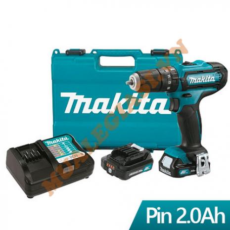Máy khoan búa,vặn vít dùng pin 12V Makita HP333DSAE