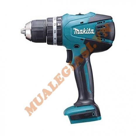 Máy khoan búa và vặn vít dùng pin 18V Makita HP457DZ