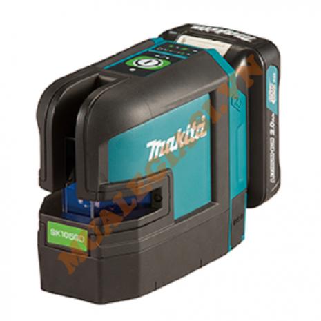Máy cân mực Laze 2 tia xanh dùng pin 12V Makita SK105GDZ