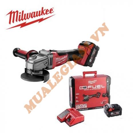 Máy mài góc dùng pin 18V Milwaukee M18 CAG100X-502X