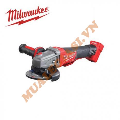 Máy mài góc dùng pin công tắc bóp Milwaukee 18V M18 CAG125XPDB-0 (Không kèm pin & sạc)