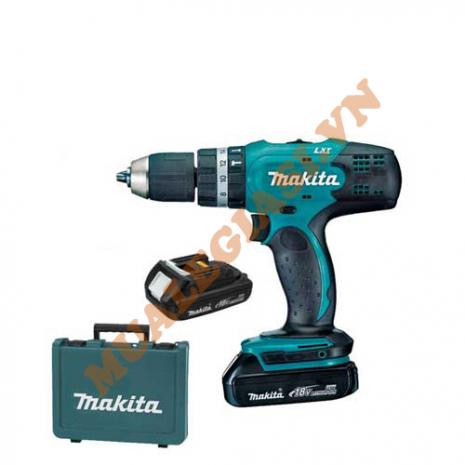 Máy khoan pin Makita 18V DHP453SHE (18V, 1.3Ah)