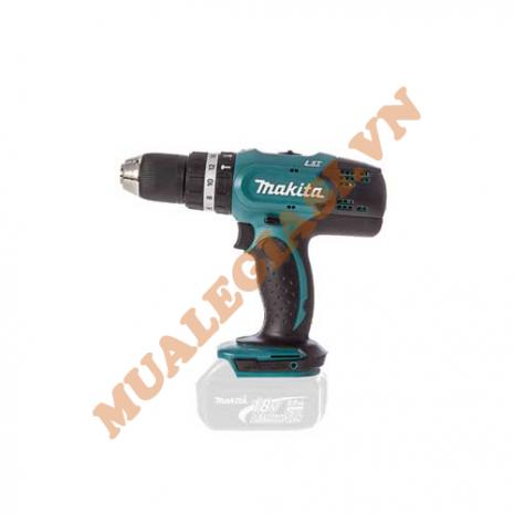 Máy khoan búa vặn vít dùng pin Makita DHP453Z 18V