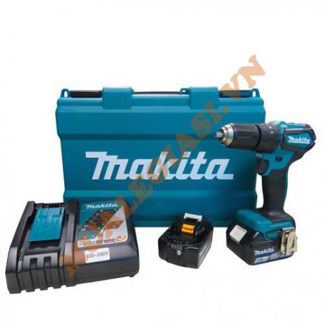 Máy khoan búa vặn vít dùng pin Makita DHP483RFE 18V