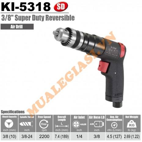 "Máy khoan hơi 10mm 3/8"" Kuani KI-5318"