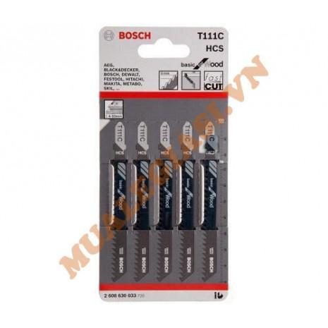 Lưỡi cưa lọng gỗ mềm T111C Bosch 2 608 630 033