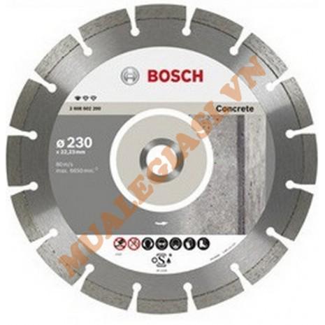 Đĩa cắt bê tông kim cương 125x1.6x22.2mm Bosch 2 608 602 197