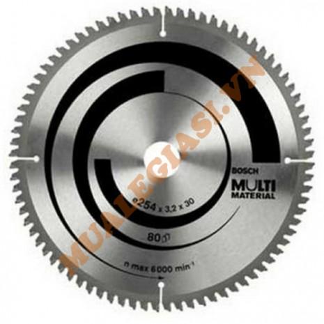 Lưỡi cắt nhôm đa năng 254x30/25mm Bosch 2 608 642 203