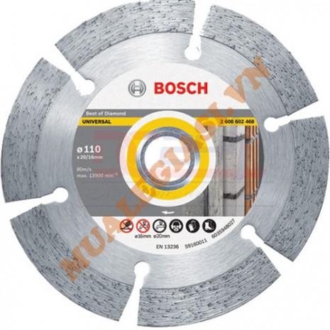 Đĩa cắt đa năng kim cương 110x20/16mm 2.0mm Bosch 2 608 602 468