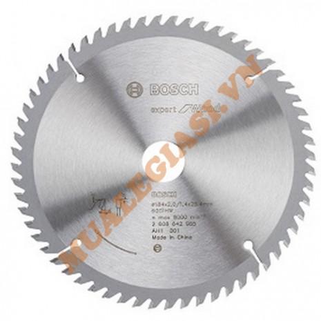 Lưỡi cưa gỗ 184x25.5 T60 Bosch 2 608 642 985