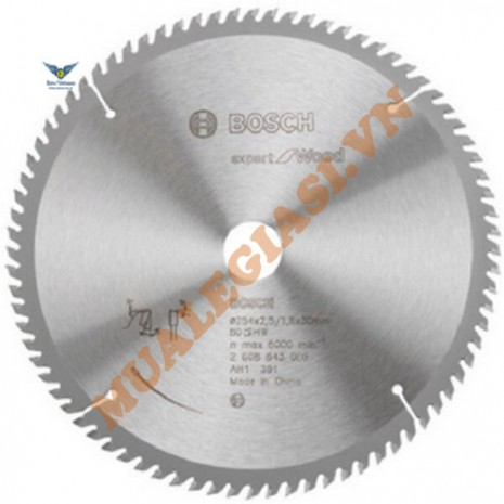 Lưỡi cưa gỗ 254x25.4 T80 Bosch 2 608 643 003
