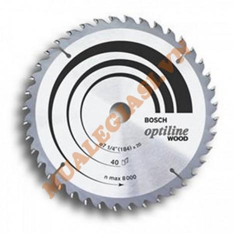 Lưỡi cưa gỗ 356x30 T60 Bosch 2 608 643 033