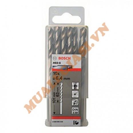Mũi khoan sắt 6.4mm HSS-G Bosch 2 608 595 335