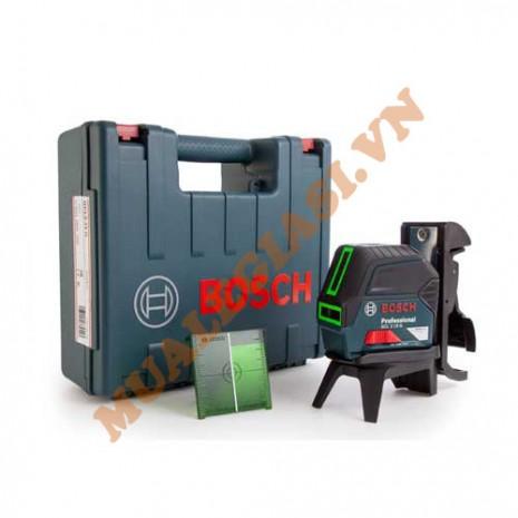 Máy cân mực laser Bosch GCL 2-50CG tia xanh